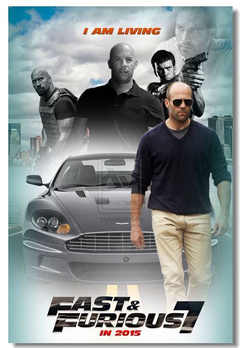 kapan film fast and furious 7 ditayangkan fast and furious 7 movie ff7 paul walker poster silk wall
