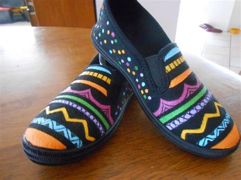 creative doodling with judy west painting canvas shoes