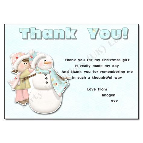 thank you letter for christmas gift letters font