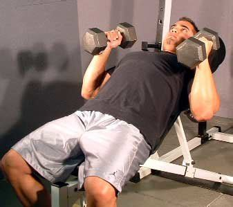 hammer dumbbell bench press intense training to increase muscle cell volume