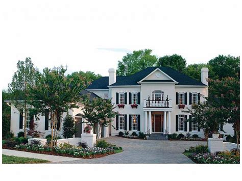 georgian style home plans eplans georgian house plan magnificent mansion 5432 square and 5 bedrooms from eplans