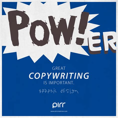 design is important graphic design great copywriting is important pirr