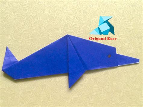 How To Make A Dolphin Out Of Paper - 15 crafts for dolphin
