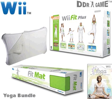 Nintendo Wii Mat by Nintendo Wii Bundle Wii Fit Plus