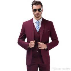 best color suit for best selling burgundy suits for mens groom tuxedos one