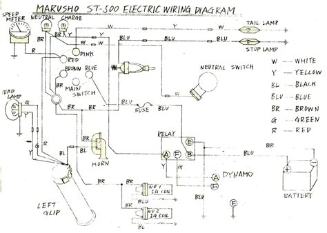 puch magnum wiring diagram electrical and electronic diagram
