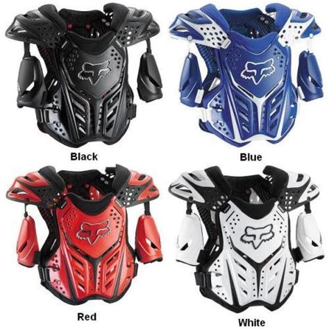Protector Fox Small 1 fox racing raceframe roost deflector guard small chest protector 06045 ebay