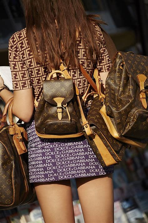 buy and bid le sac monogramme