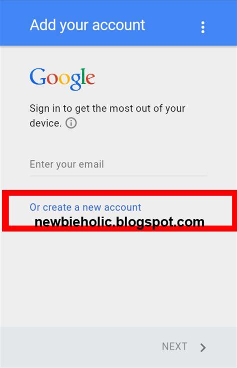 cara membuat account gmail android tutorial cara mudah membuat email gmail baru di android
