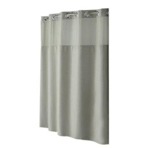 hookless peva shower curtain hookless shower curtain mystery with peva liner in sage