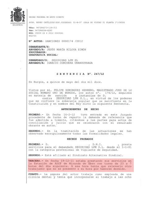 pdf convenio colectivo siderometalurgia barcelona 2007 2012 secci 243 n sindical securitas barcelona sentencia ganada por