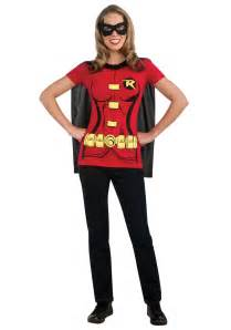 halloween costume t shirts womens robin t shirt costume