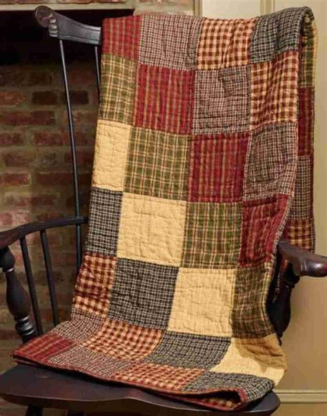 Quilted Patchwork Throw - s patchwork quilted throw allysons place