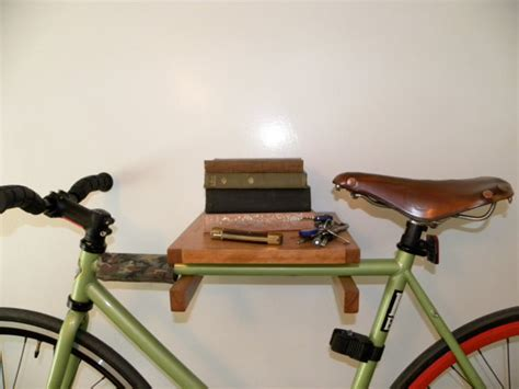 Handcrafted Bikes - take your bike the floor with these ingenious racks