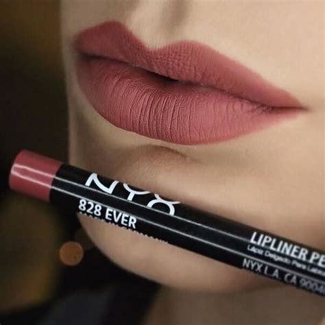 nyxcosmetics lipliner in all my