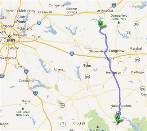 lufkin texas map from lufkin to the lake gustaviatex