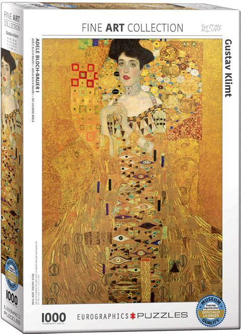 portrait  adele bloch bauer   jigsaw puzzle