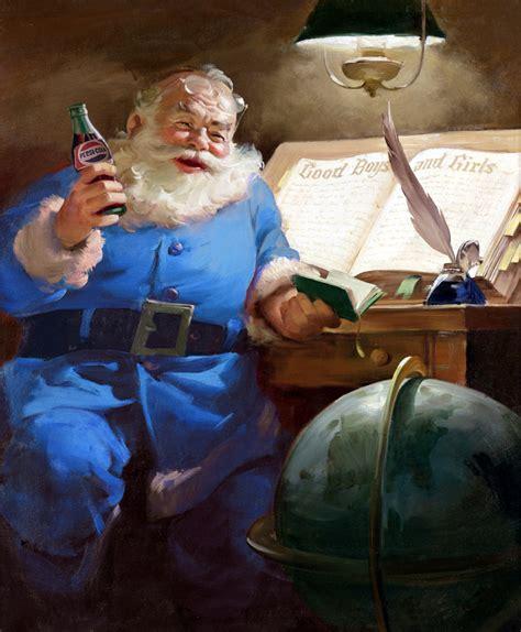 imagenes santa claus azul academia cajander 191 podr 237 a santa claus vestir de azul