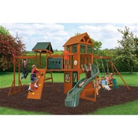 play structure for and dads on play centre