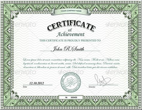 photoshop certificate template archives italianload