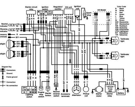 1985 kawasaki bayou 185 wiring diagram kawasaki 220 wiring