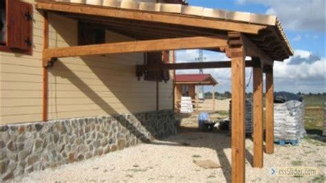 fotos de porches de madera galeria de fotos porches de madera adosados pergolas