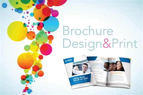 creative printing designs brochure design designhill blog