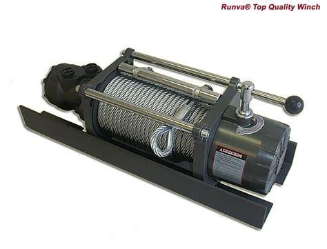 Winch Runva Ewg 10 000 hwx10000yd 10 000lb hydraulic winch winch co nz