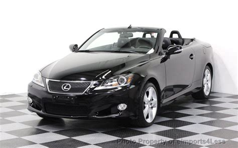 lexus convertible 2011 2011 used lexus is 250c certified lexus is250c navigation