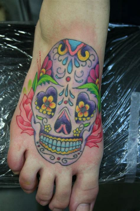 candy tattoos designs 23 best images about sugar skull foot on