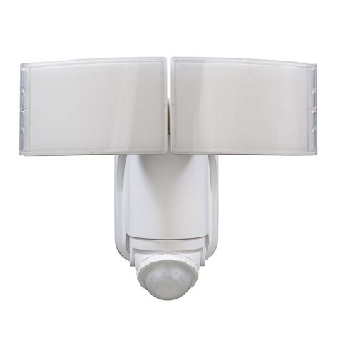 defiant 180 176 white solar powered motion led security light