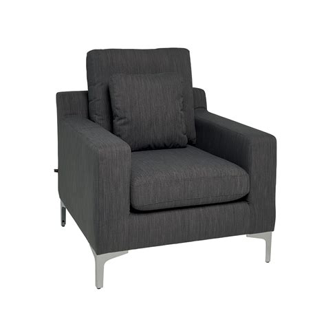 dwell armchair oslo armchair graphite fabric dwell