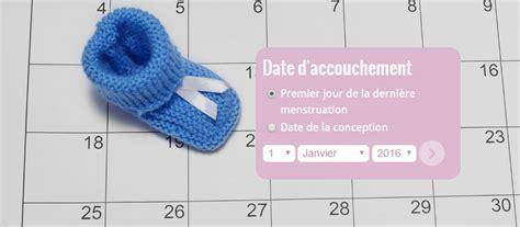 Calendrier D Accouchement La Dur 233 E De La Grossesse Et La Date D Accouchement
