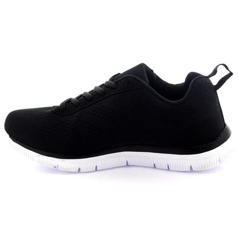 how do see run shoes fit get fit mesh running trainers athletic walk