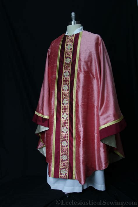 St Villop 2 In 1 Set monastic chasuble and stole set in the ignatius of