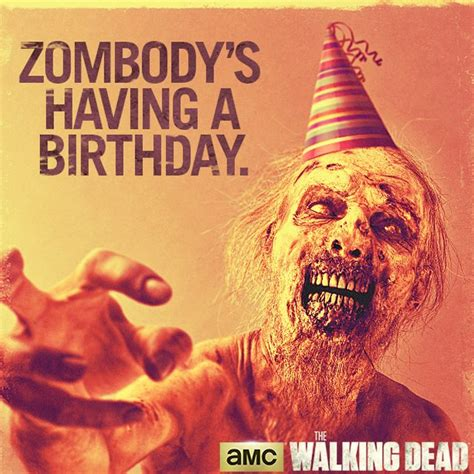 Halloween Birthday Meme - 25 best ideas about walking dead birthday on pinterest