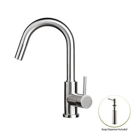 zuhne stainless steel pull out water saving kitchen faucet