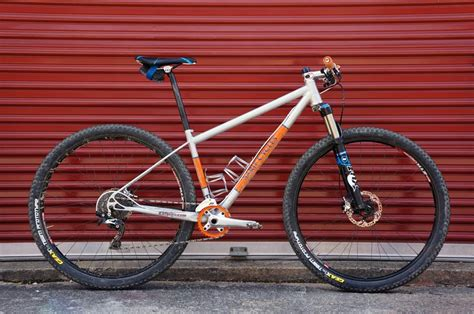 Handmade Mountain Bikes - found sarif cycle worx custom steel bikes w machined
