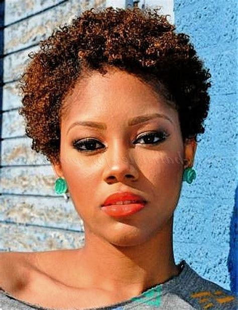short haircuts for thin natural hair african american natural hairstyles for short length hair