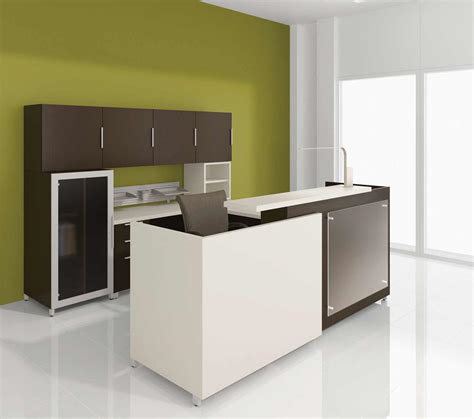 desk in kitchen design ideas modern office lobby lacasse contemporary office