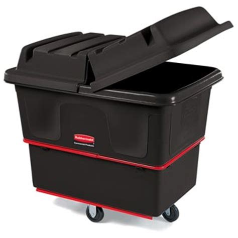 Cube Utility Truck Dome Hinged Lid Unoclean Rubbermaid Laundry With Lid