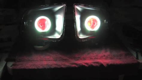 mustang eye headlights ford mustang halo eye headlights