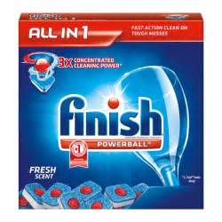 Dishwasher Tabs Finish All In 1 Powerball Fresh 32 Tabs