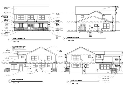 floor plans and elevation drawings all architectural designing first floor plan second floor