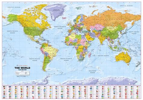 large world map large world map cystic fibrosis offer isbn 9781905755417 map stop top maps at a