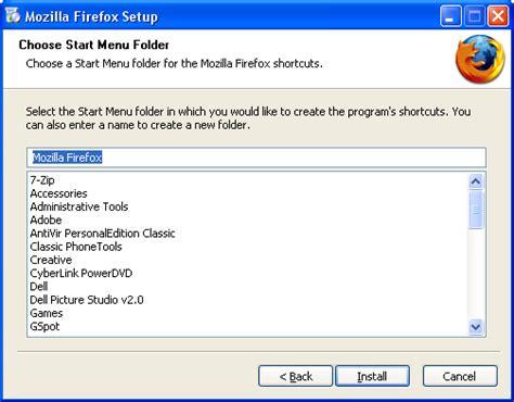 Installing Firefox on Windows - MozillaZine Knowledge Base Install Firefox Windows 7