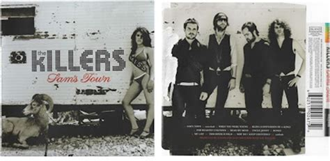 the influence a2 digipack analysis the killer sam s town