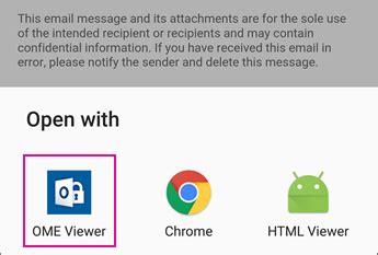 membuat email kantor di android menilkan pesan yang diproteksi di perangkat android