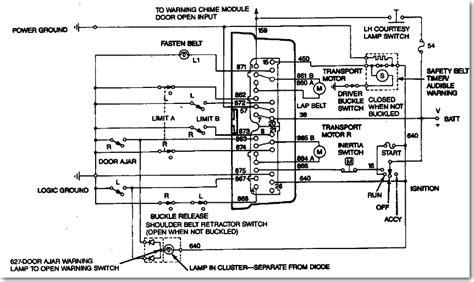 ford explorer seat belt chime ford seat belt wiring diagram wiring diagrams image free