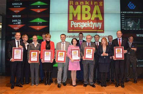 Studia Mba Politechnika Warszawska Cena by Zwycięzcy Rankingu Mba Perspektywy 2014 Na Giełdzie